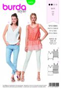 6404 Burda Pattern: Womans Tops